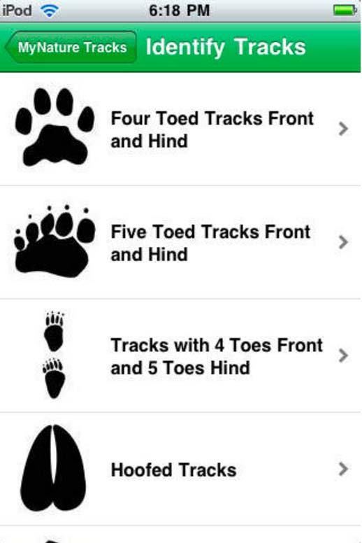 My-Nature-Animal-Tracks-App