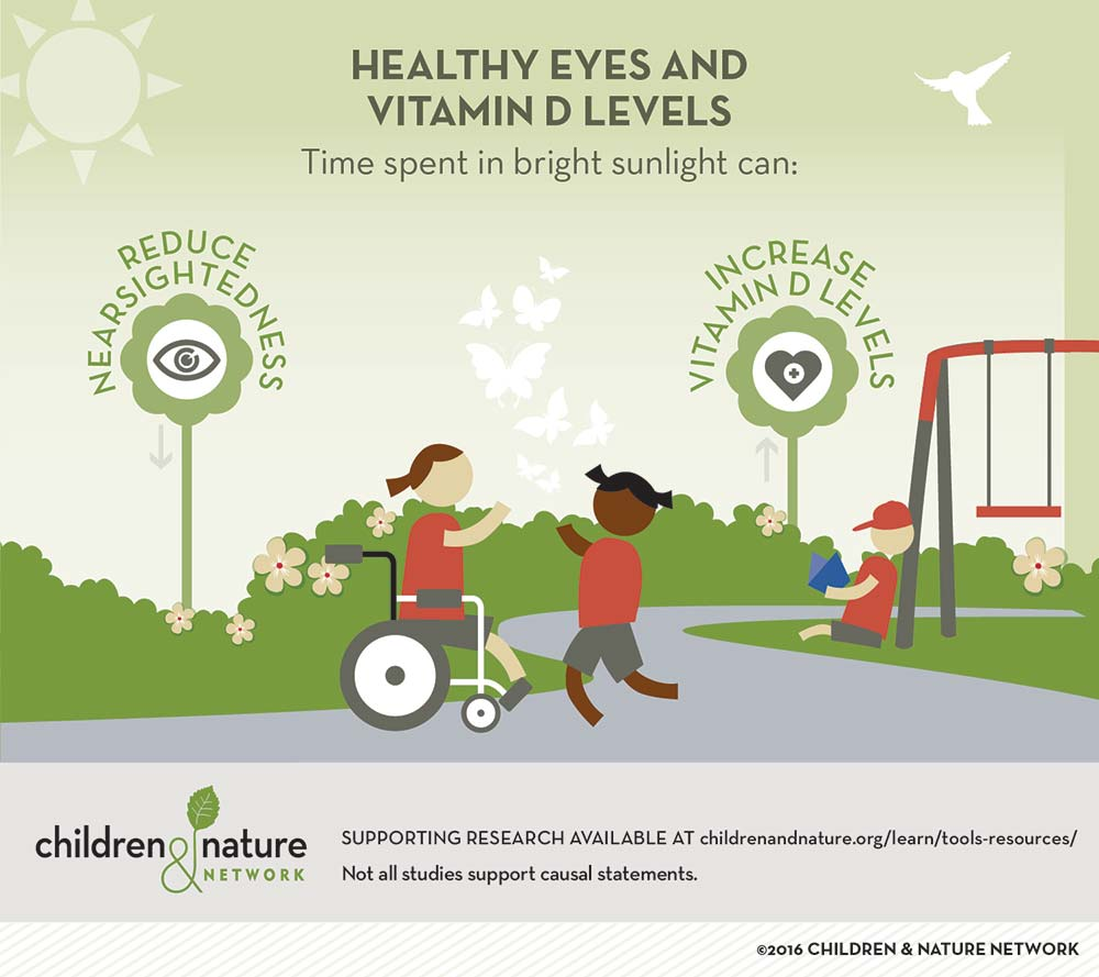 Healthy Eyes and Vitamin D Levels